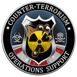 counterterrorism operations support - center for radiological nuclear training logo