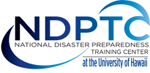 national disaster preparedness training center logo
